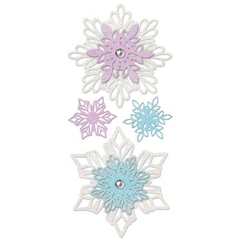 emb0021scs disney frozen snowflake wall decal by york