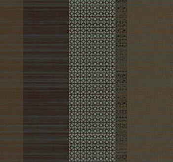 Gs4751 Stacy Garcia Ii Horizontal Silk Weave And Metallic Squares Vertical Stripe Wallpaper By York