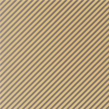 GWP-3308.411 Oblique Paper Gold/Taupe by Groundworks