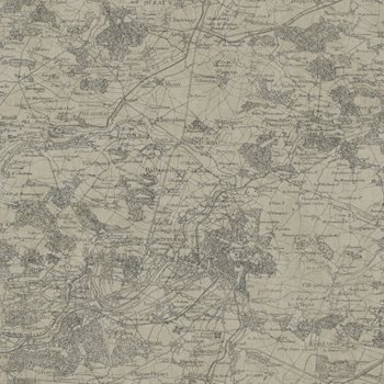 GX8175 Passport Vintage Map Wallpaper by York