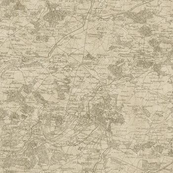GX8176 Passport Vintage Map Wallpaper by York