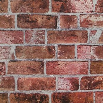 HE1044 Modern Rustic Brick Wallpaper By York