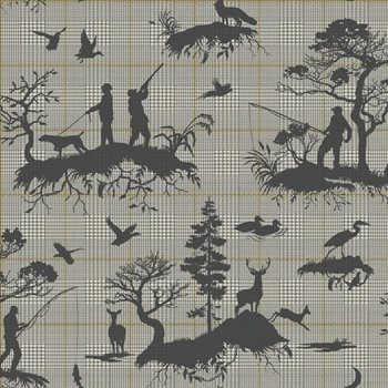 HO3325 Outdoorsmen Toile by York