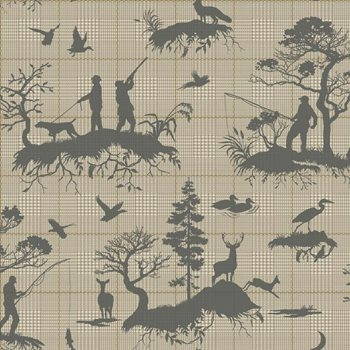 HO3326 Outdoorsmen Toile by York