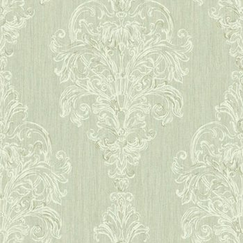 SH5563 Vintage Luxe New Damask Stripe Wallpaper By York