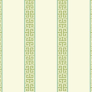SV2681 Waverly Stripes Greek Key Stripe Wallpaper by York