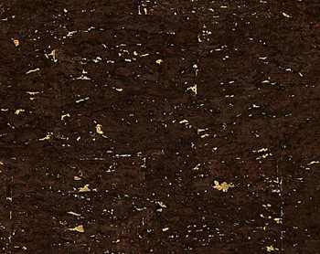 WP88352-002 Carbonized Cork Espresso & Gold by Scalamandre